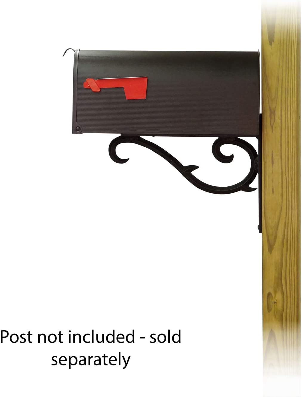 Amazon Com Special Lite Products Company Standard Steel Curbside Mailbox With Sorrento Front Single Mailbox Mounting Bracket Furniture Decor