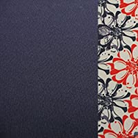 Monterey Club Ladies Dry Swing Daisy Stamp Sleeveless Contrast Shirt #2358