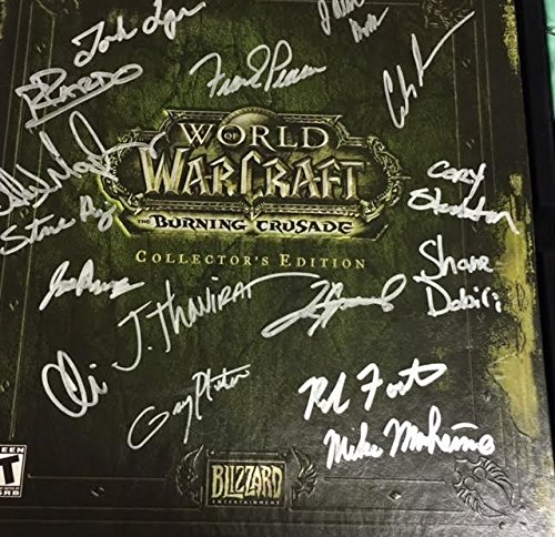 World of Warcraft Burning Crusade Collectors Edition - World Warcraft Burning Crusade Collectors Edition