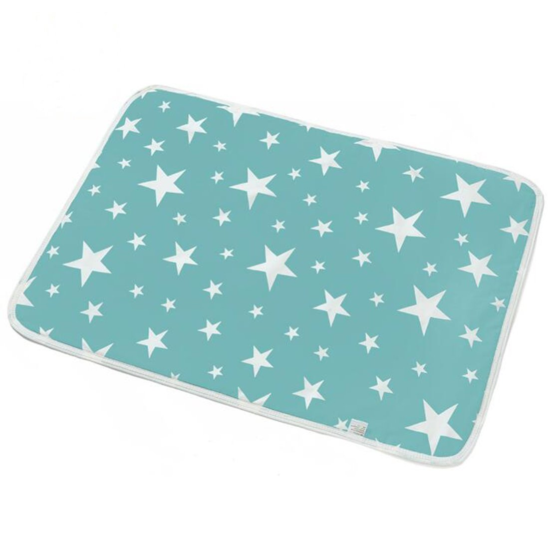20*28, H//1pc October Elf Unisex Baby Waterproof Diaper Changing Mat Pad with Large Size