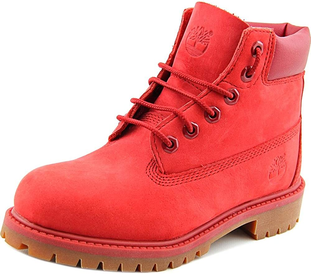 Northern Abbreviation psychology  Amazon.com: Timberland 6in Classic Shearling Youth US 1 Red Boot: Shoes
