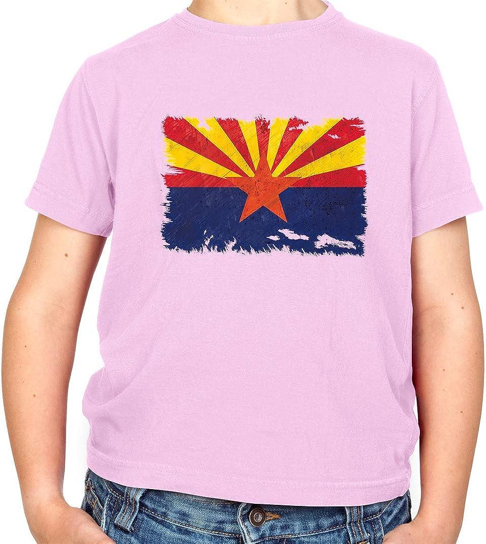 Arizona Grunge Estilo Bandera – Camiseta para niños – rosa claro – L (9 – 11 Años): Amazon.es: Ropa y accesorios