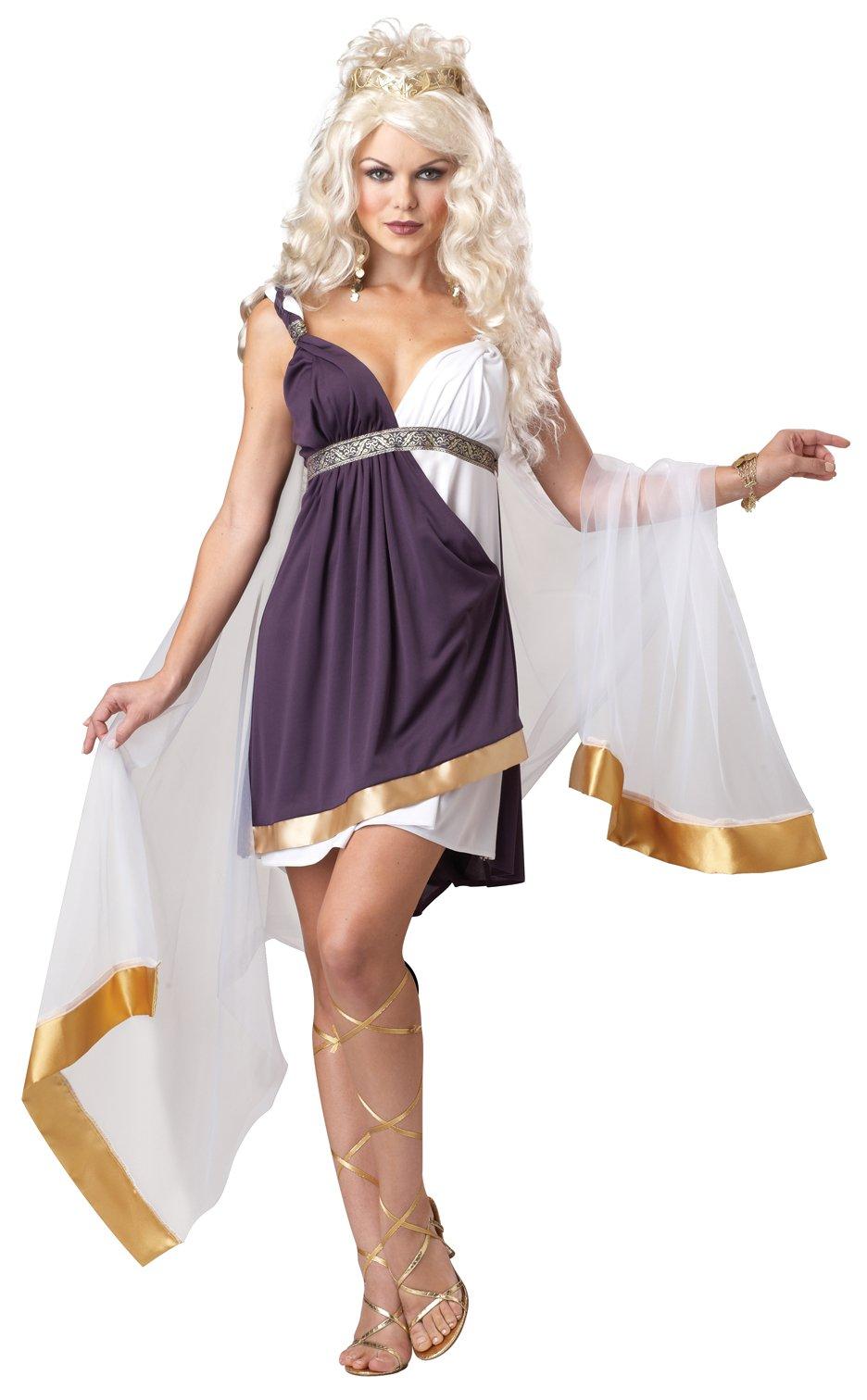 California Costumes Women's Venus Goddess Of Love Adult, Purple/White, Small