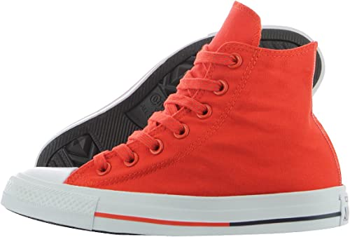 Converse Chuck Taylor All Star Hi Signal RedWhiteObsidian Sneakers 153794F Men Shoes