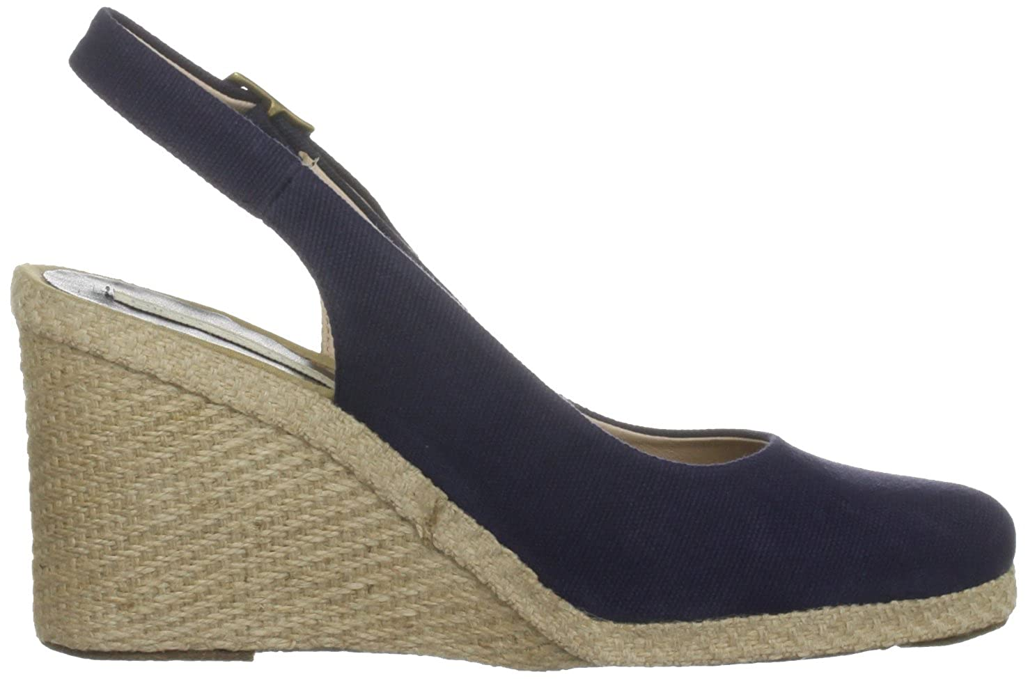 b4778e8a3 Pied A Terre Women's Imperia Navy Wedges 0433505900003040 3 UK:  Amazon.co.uk: Shoes & Bags