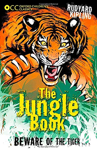 Book cover for The Jungle Book