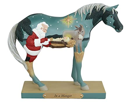 Enesco Trail of Painted Ponies in A Manger Figurine, 5.75-Inch