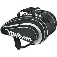 Wilson RAK Pack Racquetball Bag Large, Large, Black/Silver
