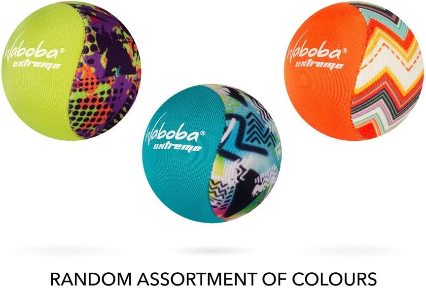 Waboba Ball Extreme Bounces On Water Grey & Blue Floral: Amazon.es ...