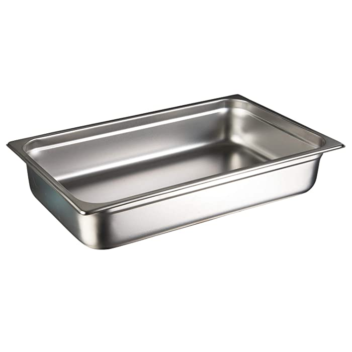 "Update International (NJP-1006) 6"" Full-Size Anti-Jam Steam Table Pan"