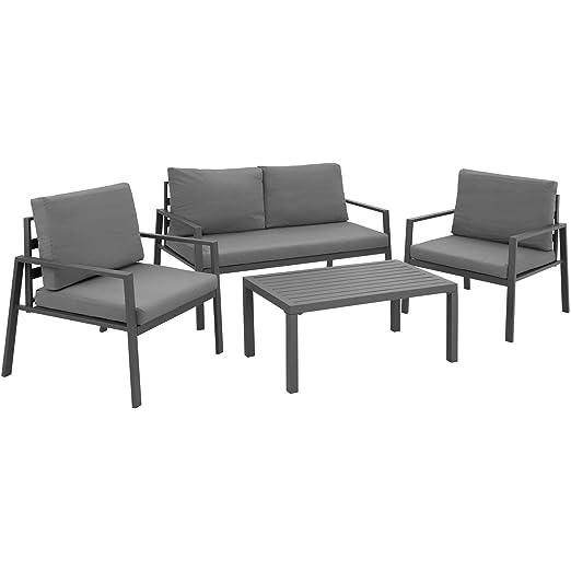 TecTake 403202 Conjunto de Muebles de Aluminio para Jardín ...