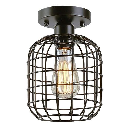 Vintage Ceiling Light Fixtures Amazon Com