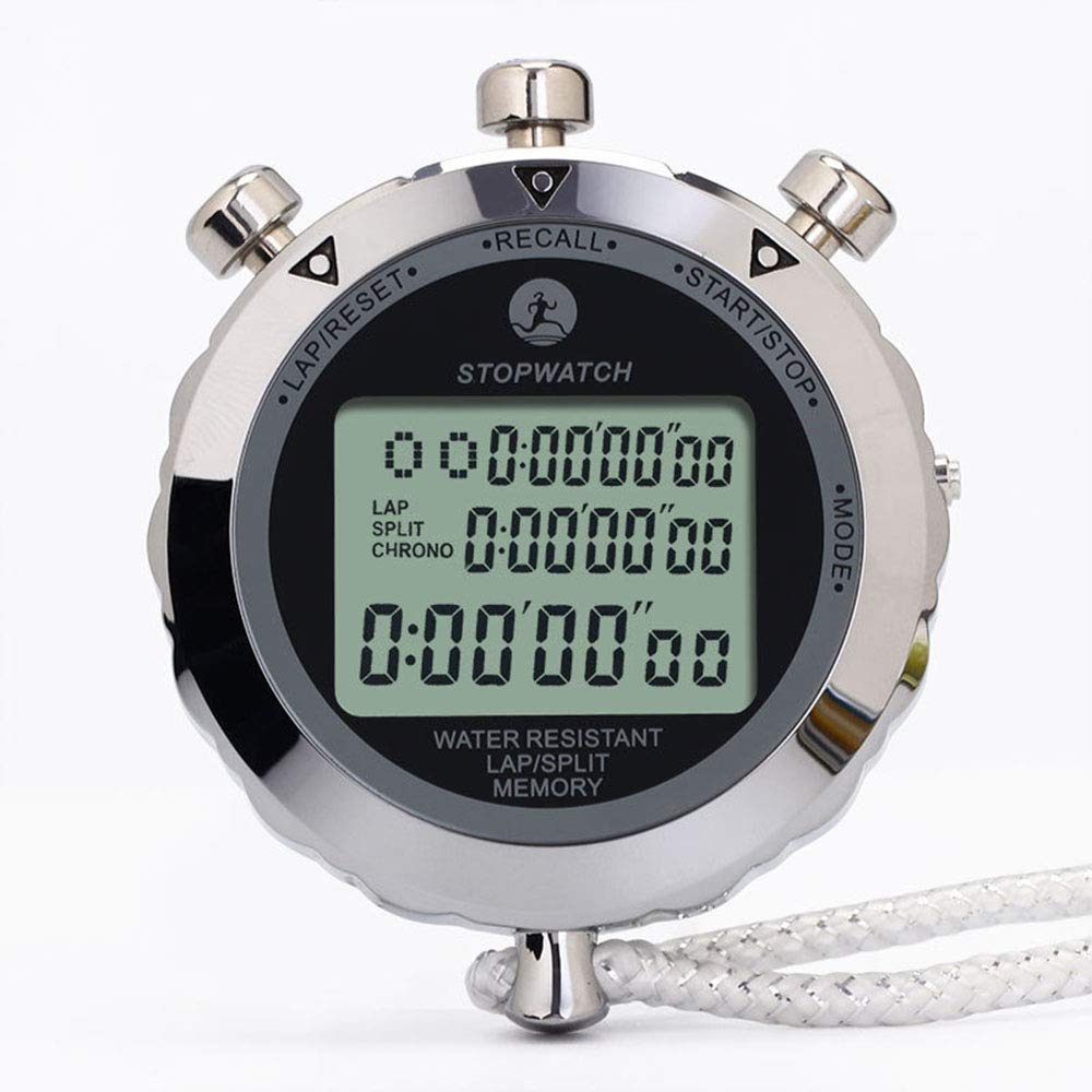 PYXM Cronómetro, Cremallera Resistente al Desgaste Metal 10 ...
