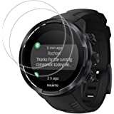 For Watch SUUNTO 9 Tempered Glass Screen Protector - [2 PACK] Full Coverage HD Clear Anti-Bubble Anti-Scratch for Clear…