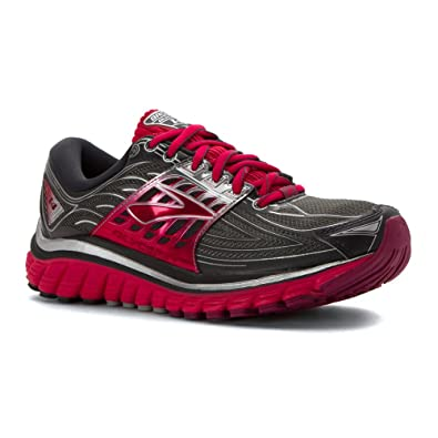88fcf60b818dd Brooks Women s Glycerin 14 Anthracite Azalea Silver Sneaker 7 2A - Narrow   Buy Online at Low Prices in India - Amazon.in