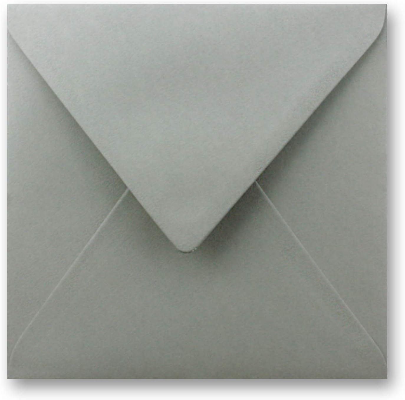 Buste quadrate,//Nero /molto resistente/ nassklebung 158/X 158/mm pizzo Patta////AUS der Serie colore froh von neuser /110/G//M/² 25 Umschl/äge nero pesante qualit/à/
