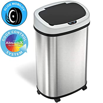 iTouchless SensorCan 13-gallon Kitchen Trash Can