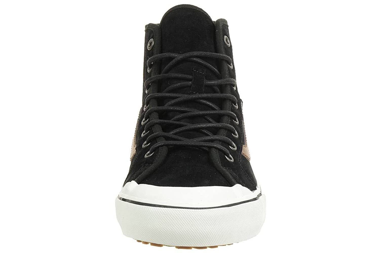 high top vans black