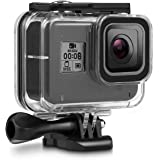 Deyard 60M Waterproof Case for GoPro Hero 8 Underwater Waterproof Protective Housing Case for GoPro Action Camera with Quick Release Mount and Thumbscrew