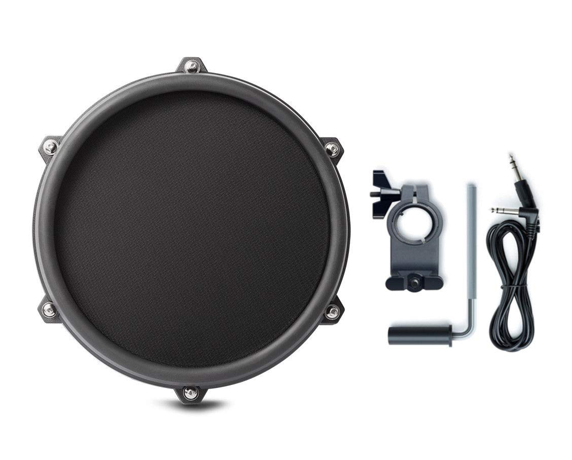 Alesis Nitro 8 Inch SINGLE-ZONE Mesh Tom Pad Expansion Pack- 8'' Drum, Clamp, Cable - DMPad