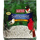 KAYTEE Safflower Seed is a high oil content seed that is very desirable to cardinals as well as other backyard birds. As an added benefit safflower helps discourage squirrels from eating because of its bitter taste. Because squirrels dislike this see...