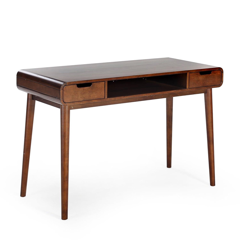 amazoncom belham living carter mid century modern writing desk  - amazoncom belham living carter mid century modern writing desk kitchen dining