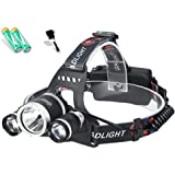 Kuerli Luz de Pesca al Aire Libre de la luz de la Noche de la Linterna de Carga USB del LED Faroles de Mano