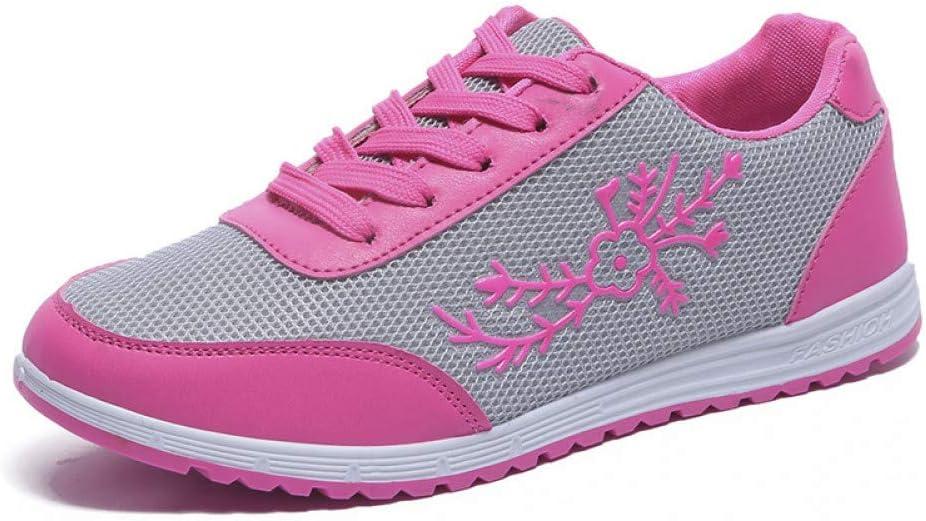 GODYS - Zapatillas de Running para Mujer, Rojo, 38: Amazon.es ...