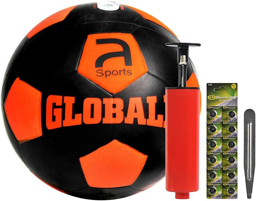 MoreBuyBuy Novel - Bombillas LED de Goma para Juegos de fútbol Juvenil para Interiores y Exteriores, se Ilumina en Impacto, Brilla en la Oscuridad, tamaño y Peso Oficial, Gran Regalo: Amazon.es: Deportes