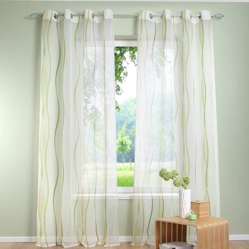 Tende classiche e drappeggi Welltobuy Tenda per finestre ...