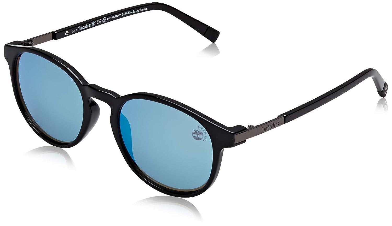 Timberland TB9151 Gafas de Sol, Negro (Shiny Black/Brown ...