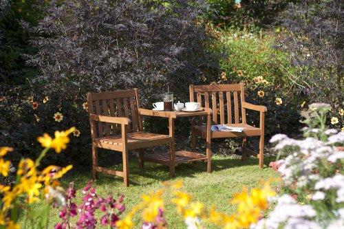 Companion Dining Chair - Bosmere Rowlinson A100 Hampton Companion 2 Chair and Side Table Set
