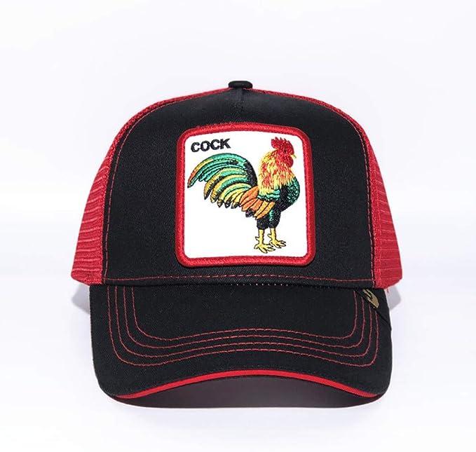 sdssup Gorra De Béisbol Animal Sombrero Bordado Lobo Caqui Gallo ...
