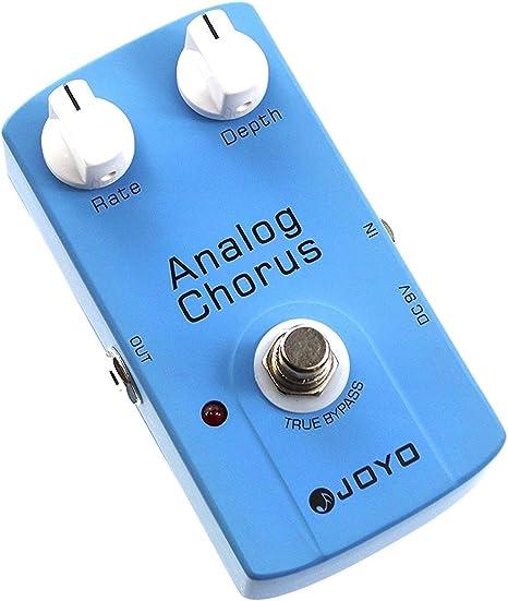 JOYO JF-37 - Pedal de efecto chorus para guitarra (batería zinc ...