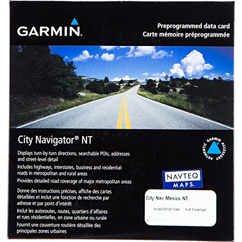 Garmin City Navigator 2009 Mexico Map microSD Card