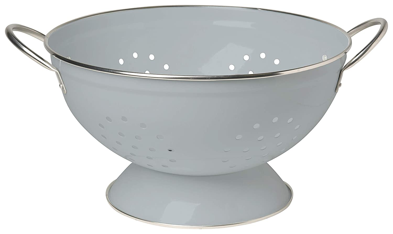 White Now Designs 5006010aa Metal Colander Meadowland 1-Quart