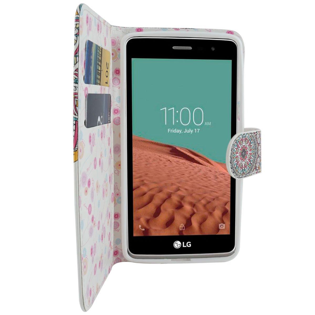Amazon.com: LG L Bello 2 Funda, LG Max Caso, mstechcorp ...
