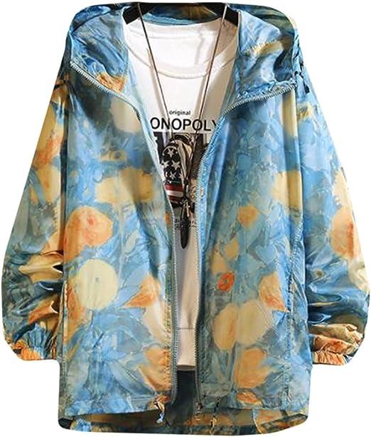 AOZUOメンズ ma-1ジャケット スタジャン 春 秋 薄コート uvカット トップス 長袖 ブルゾン 日焼け止め ブルゾン 迷彩柄 カジュアルアウター オーバーサイズ ストリート
