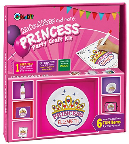 Makit Products Make a Plate and More - Princess Party -
