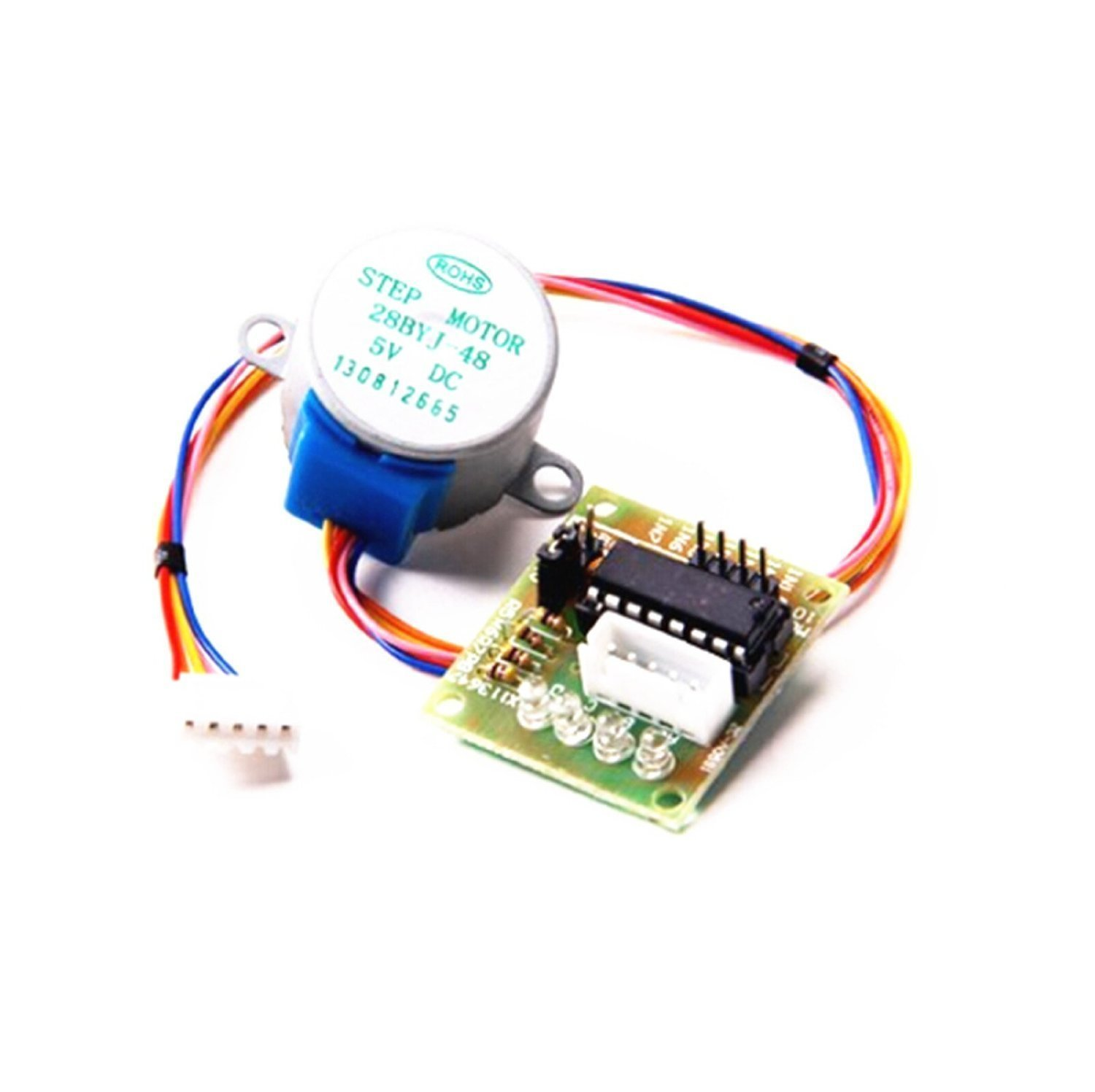 28byj 48 Stepper Motor With Uln2003 Driver And Arduino