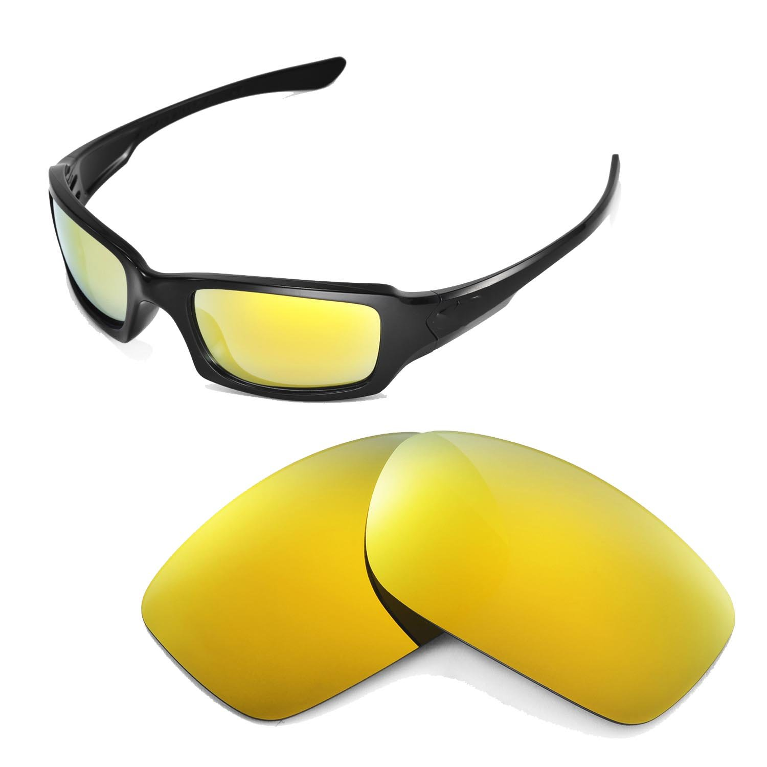 oakley replacement lenses  walleva replacement lenses for oakley fives squared sunglasses 17 options available