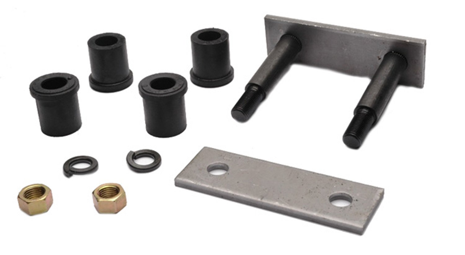 ACDelco 45G13036 Professional Rear Leaf Spring Shackle Bushing Assembly