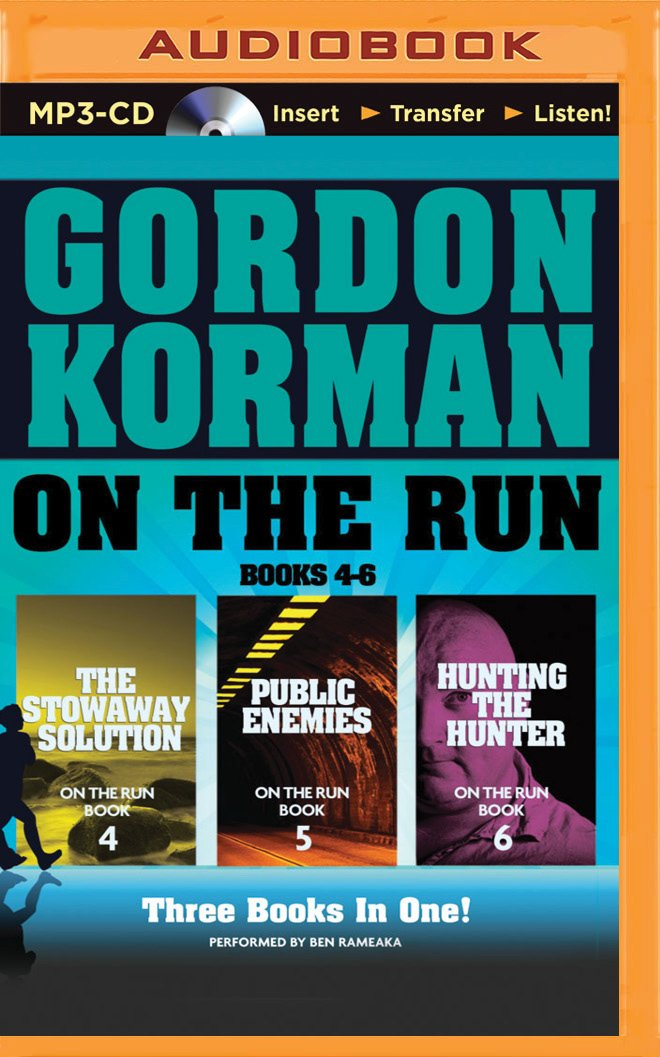 Download On the Run Books 4-6: The Stowaway Solution, Public Enemies, Hunting the Hunter (On the Run Series) pdf epub