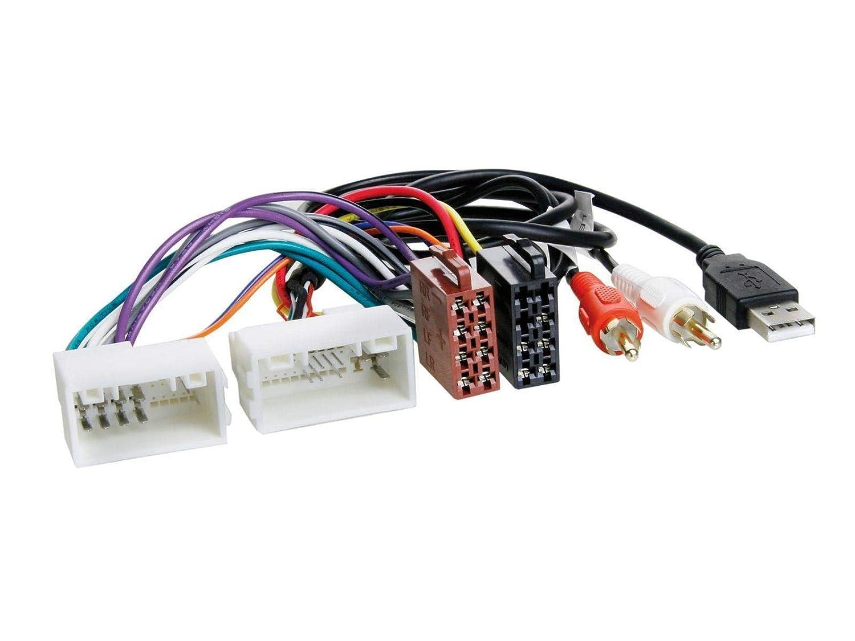 caraudio24 JVC KW-M25BT USB 2DIN Bluetooth MP3 AUX Autoradio f/ür Hyundai i30 ab 2012 AUX USB