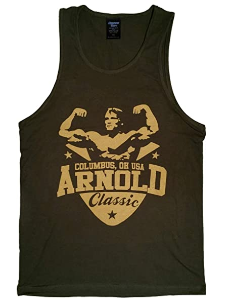 2bc821d8d8b212 Amazon.com  Arnold Schwarzenegger Classic Men s Stringer Tank Top  Clothing
