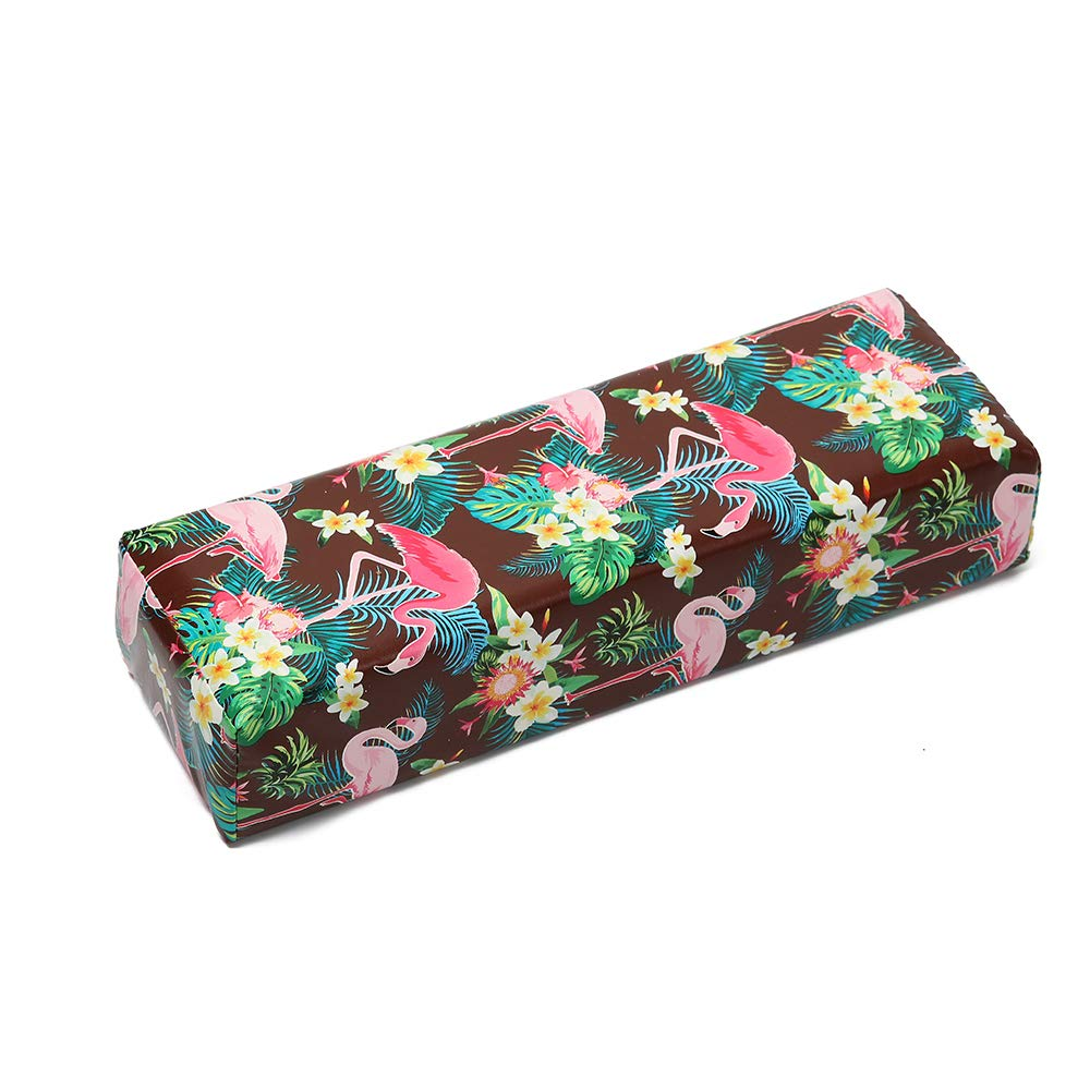 Anself Nail Art Pillow Hand Cushion Holder Soft PU Leather Arm Rest Professional for Makeup Manicure