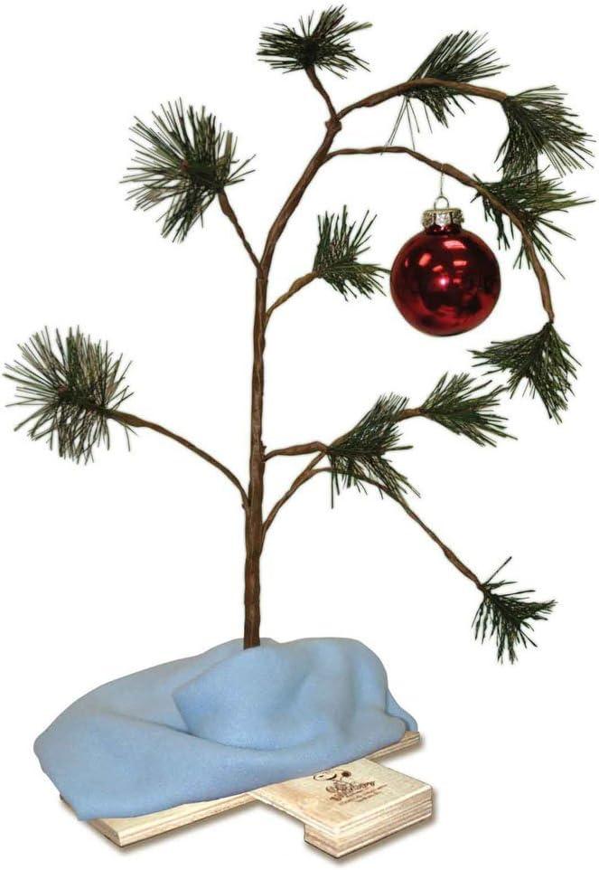 ~ Hallmark Peanuts Red Ornament Charlie Brown Christmas Tree NEW