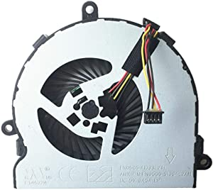 DBParts CPU Cooling Fan for HP 15-BA007CL 15-BA009DX 15-BA010CA 15-BA010NR 15-BA013CL 15-BA014NR 15-BA014WM 15-BA017CL 15-ba018WM 15-BA019NR 15-BA020CA 15-BA020NR 15-BA021CA 15-BA022CA 15-BA022NR