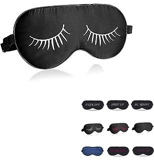 Amazon.com: hodeco 100% Seda de Morera máscara de ojos noche ...