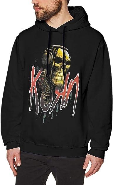 Imagen deADUUOS K-ORN Mens Long Sleeve Sweatshirts Mans Hoodies Black